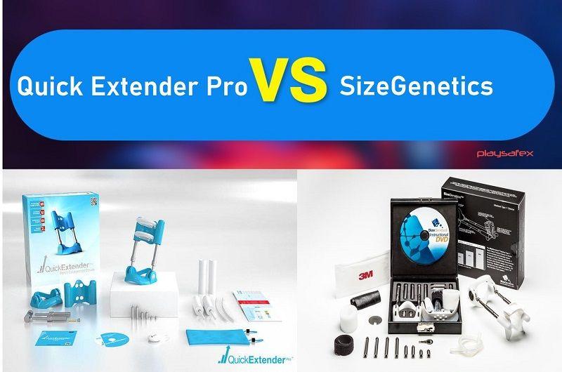 Quick Extender Pro VS SizeGenetics