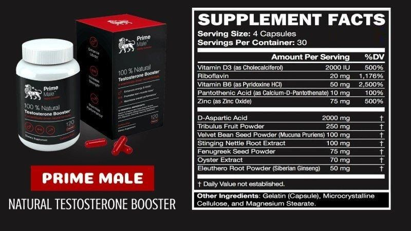 Prime-Male-Ingredients