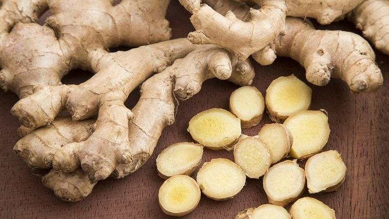 ginger penis food