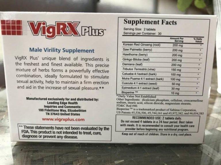 vigrx-plus-ingredients-label